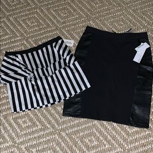 KENSIE and FOREVER 21 SKIRTS